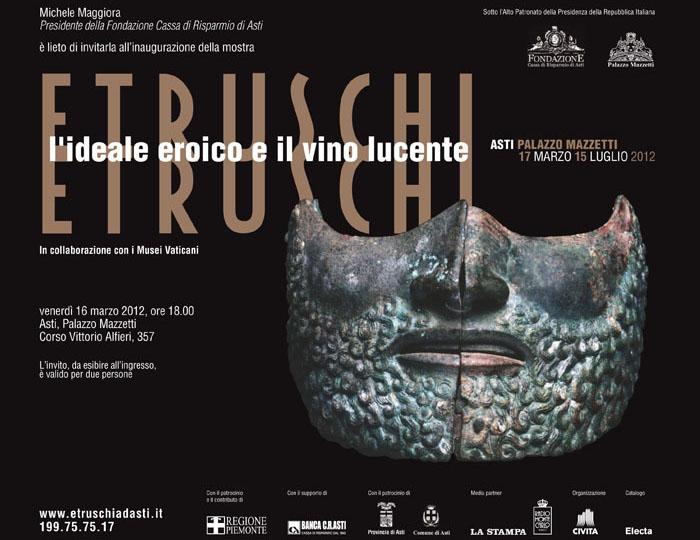 Etruschi – L'ideale eroico e il vino lucente