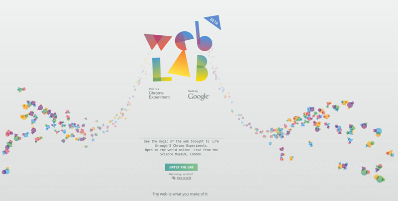 WEB LAB by Google