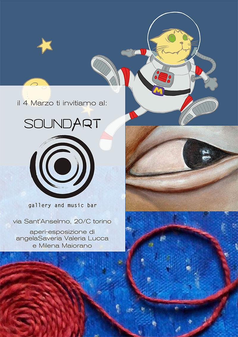 angelaSaveria, Valeria Lucca and Milena Maiorano exhibition 4th on March!